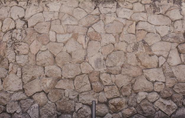 Stara kamienna ściana tekstur
