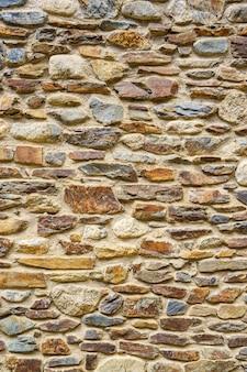 Stara kamienna ściana tekstura pełna ramka w tle