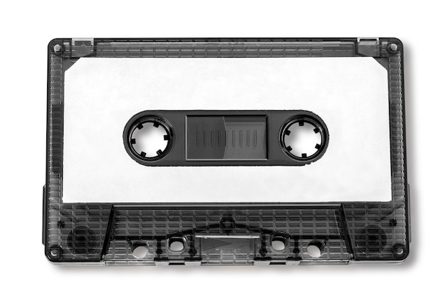 Stara kompaktowa kaseta audio
