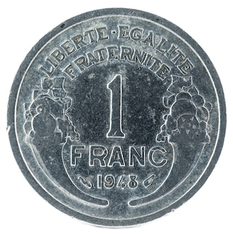 Stara moneta francuska.