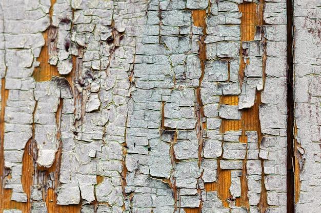 Stara rustykalna drewniana powierzchnia.