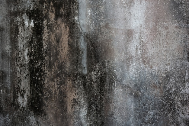 Stara ściana cementu.