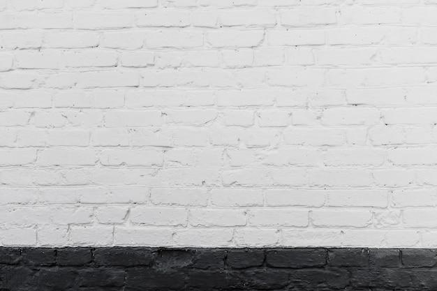 Stara ściana z cegieł z delikatnym winietowaniem