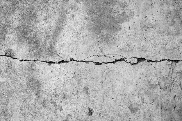 Stara szara betonowa ściana