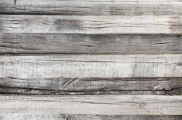Stara szara drewniana tekstura lub tło