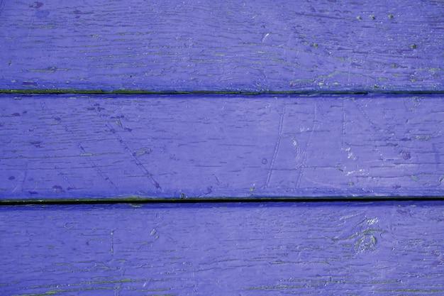 Stara tekstura drewna z bliska w kolorze niebieskim