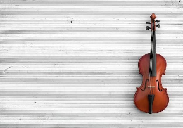 Stara wiolonczela na białym tle