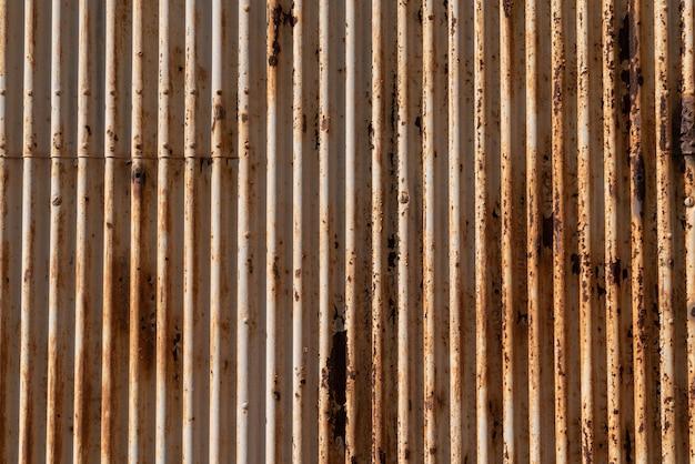 Stara zardzewiała powierzchnia metalowa