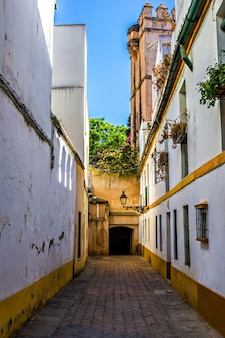 Stara żydowska dzielnica sewilli, hiszpania