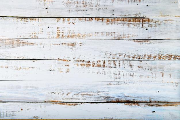 Stare białe deski dla tła. białe rustykalne drewniane deski tekstury tła. widok z góry