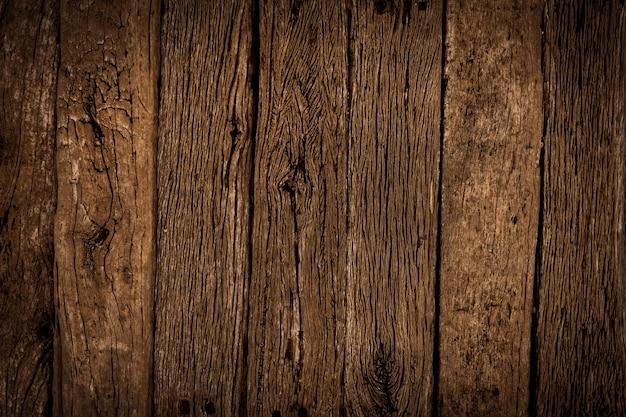 Stare brązowe drewno tekstury tła. kąt widzenia ciemnego drewnianego blatu.