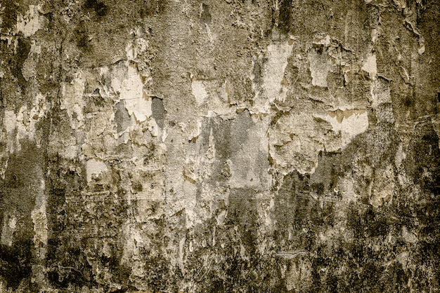 Stare brudne betonowe tekstury dla tła - rocznika filtra skutek