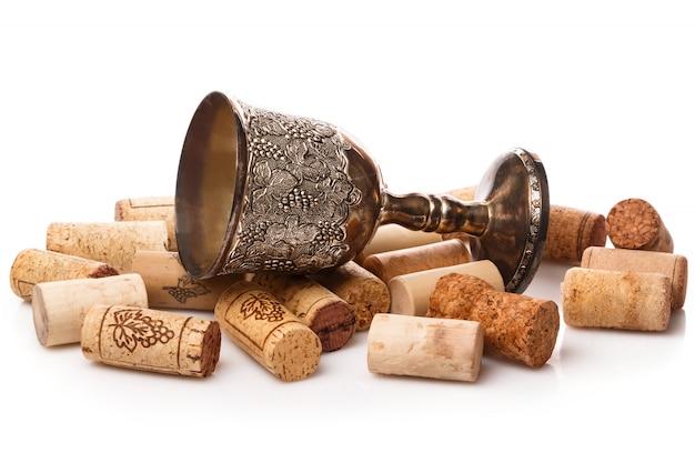 Stare czary i korki do wina