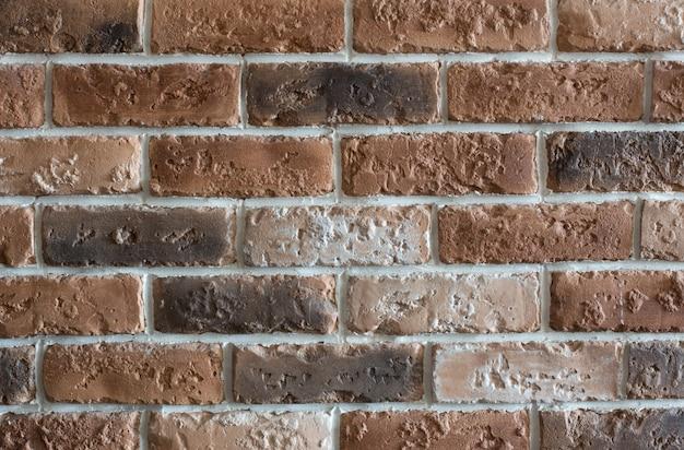 Stare czerwone tło ściany grunge