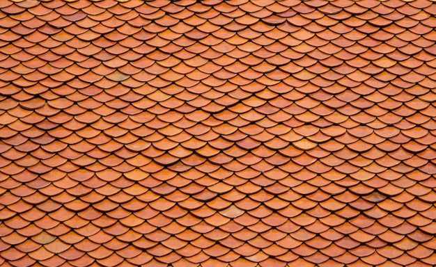 Stare dachówki dachu tle