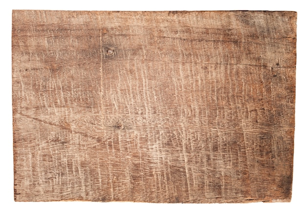 Stare drewniane deski tekstury na białym tle