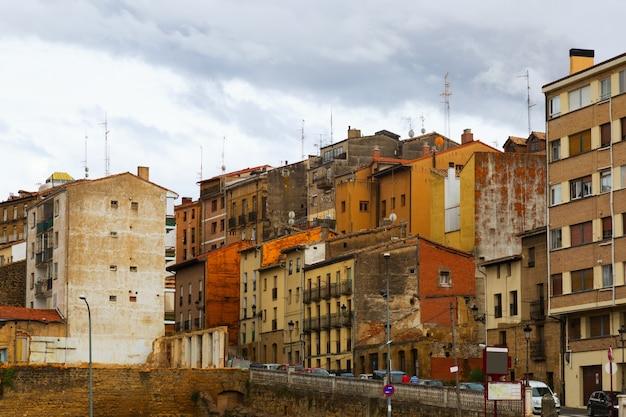 Stare hiszpańskie miasteczko. haro, la rioja