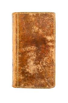 Stare książki vintage na białym tle