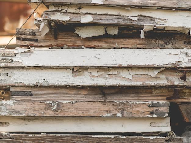 Stare malowane drewniane tła