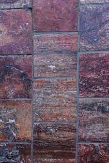 Stare marmurowe ściany