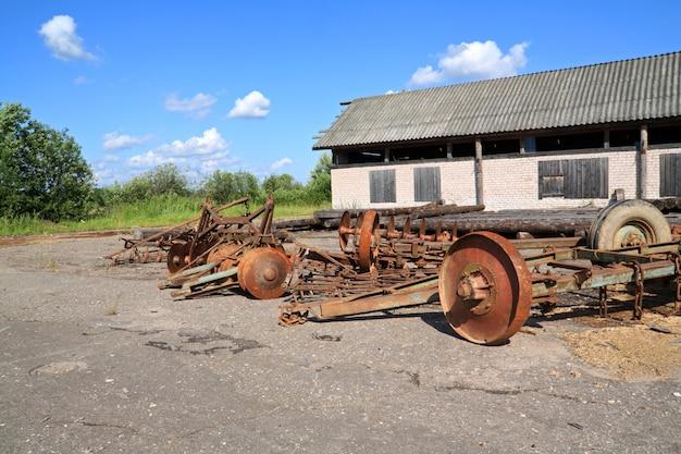 Stare mechanizmy rolnicze