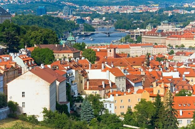 Stare mesto, widok na stare miasto, praga, czechy