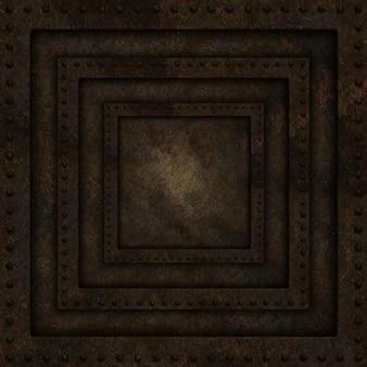 Stare metaliczny wzór tła