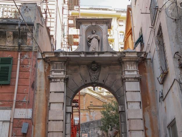 Stare miasto w genui