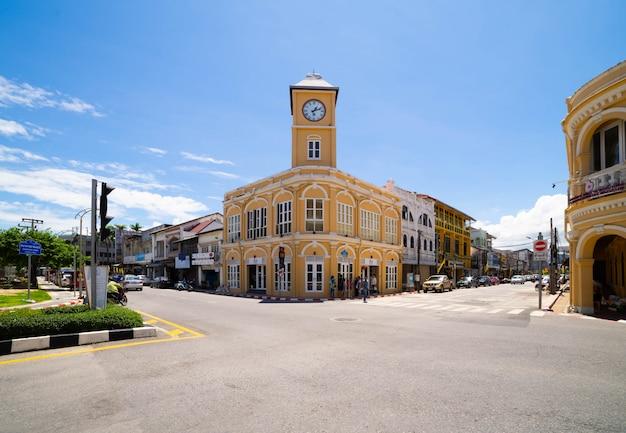 Stare miasto w phuket