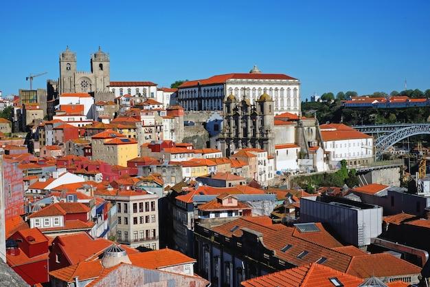 Stare miasto w porto, portugalia