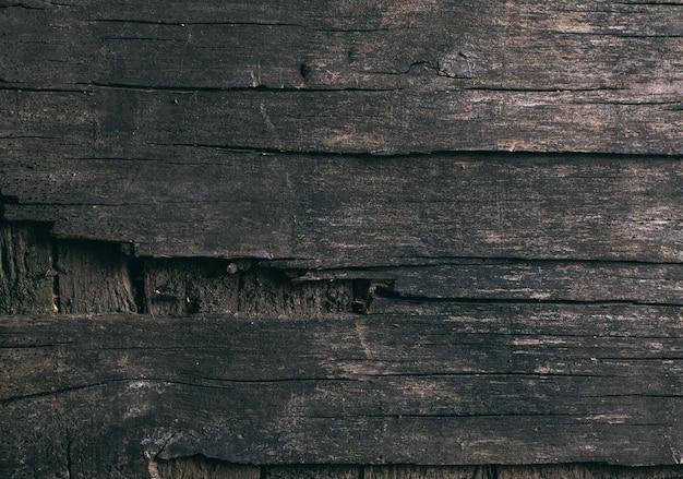 Stare naturalne drewniane shabby tło z bliska