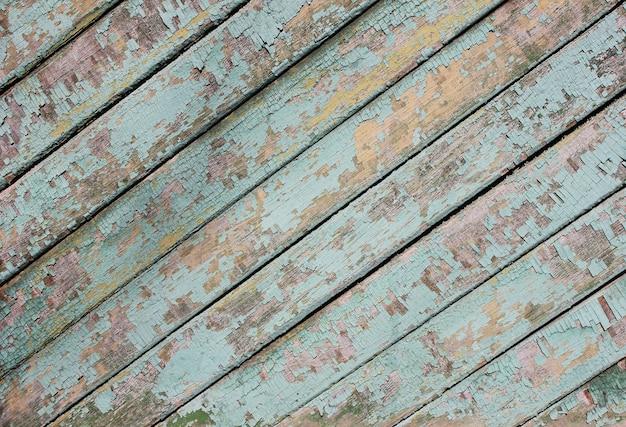 Stare odrapane drewniane deski