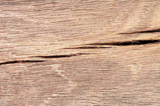 Stare pęknięte drewno. zdjęcie z bliska. zdjęcie w wysokiej rozdzielczości.