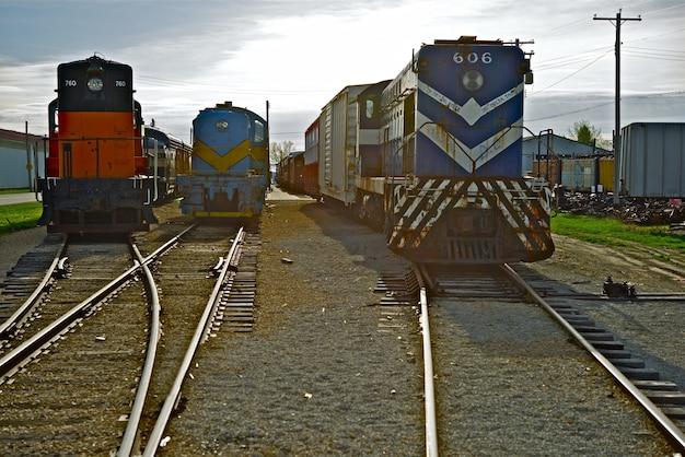 Stare silniki pociągowe