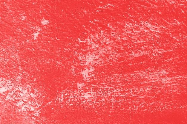 Stare vintage red ściany tekstury tła z zadrapaniami.