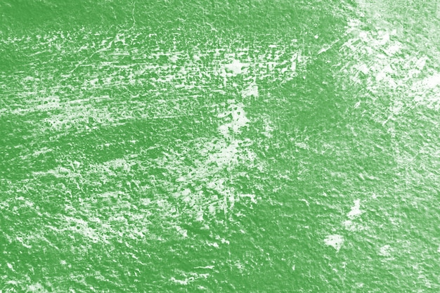 Stare vintage zielone tło ścienne tekstury z zadrapaniami.