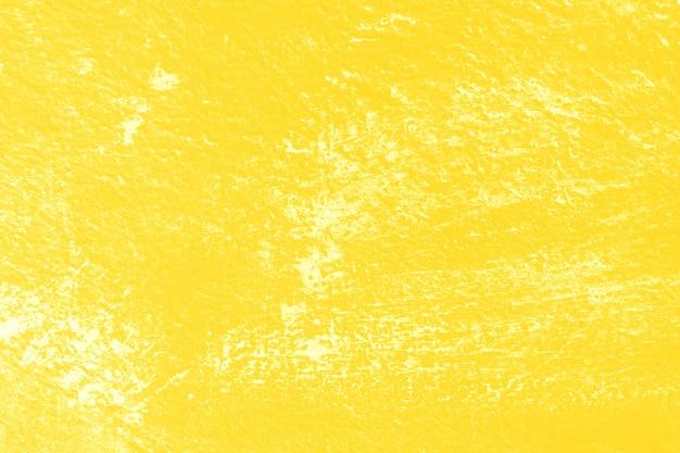 Stare vintage żółty ściany tekstury tła z zadrapania.