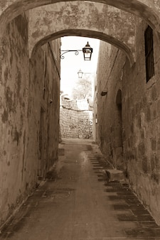 Stare wąskie uliczki