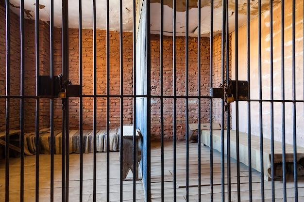 Stare więzienne wnętrze, przydatne do koncepcji