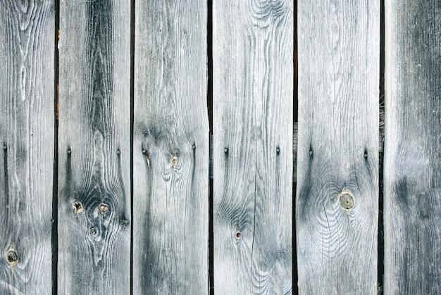 Stare zabytkowe drewniane deski domu. szary tekstura drewna.