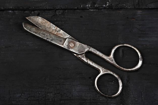 Stare zabytkowe nożyczki