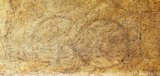 Stare złote metalowe starożytne tło