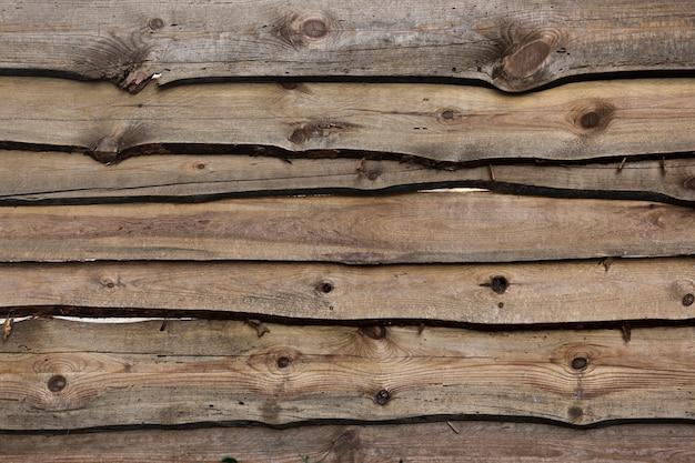 Starego rocznika deski drewniany wyklepany tło