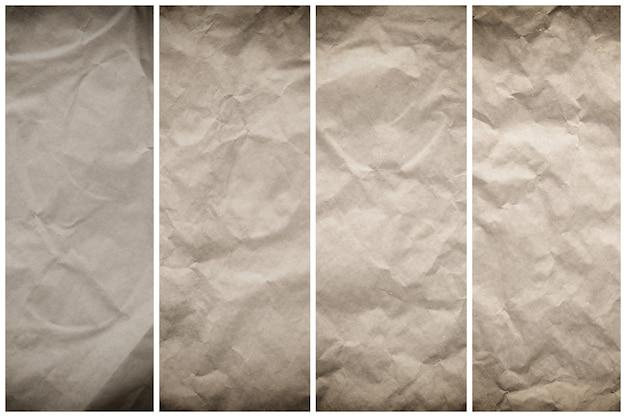 Starodawny stary papier tekstura tło dla projektu w koncepcji powierzchni roboczej.