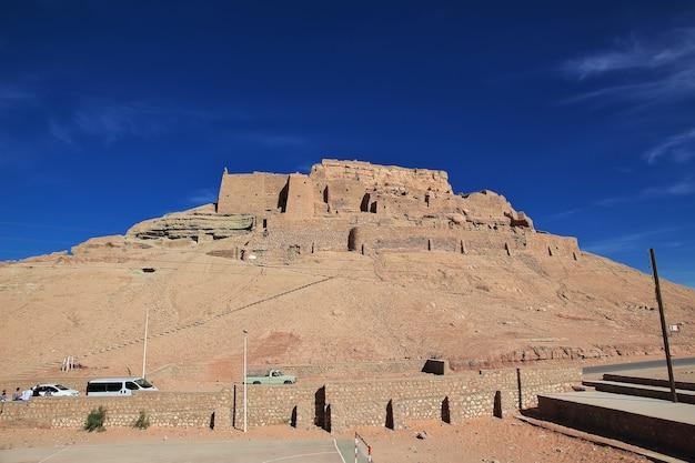 Starożytna forteca na saharze w algierii