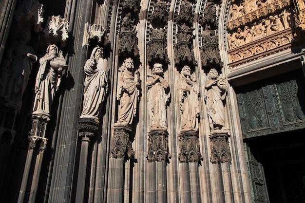 Starożytna katedra w kolonii w niemczech