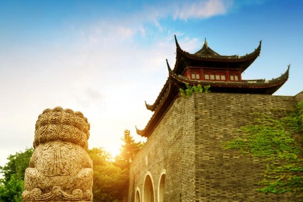 Starożytna ściana miasta