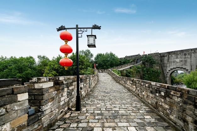 Starożytne chińskie mury miejskie