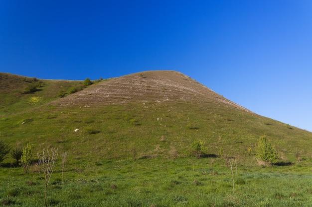 Starożytne góry kredowe w centralnej rosji