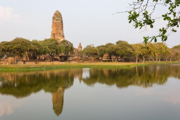 Starożytne miasto ayutthaya